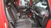 Jeep Wrangler Unlimited Sahara edition front seats at the 2015 Chengdu Motor Show