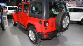 Jeep Wrangler Unlimited Sahara edition rear quarter at the 2015 Chengdu Motor Show