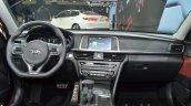 Kia Optima GT Europe dashboard interior at IAA 2015