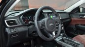 Kia Optima GT Europe steering wheel at IAA 2015