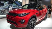Land Rover Discovery Sport HSE Dynamic Lux front three quarter at IAA 2015