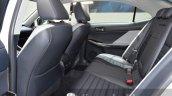 Lexus IS200t Sport Edition rear cabin at the IAA 2015