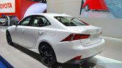 Lexus IS200t Sport Edition rear three quarter at the IAA 2015