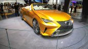 Lexus LF-C2 front quarters at the 2015 Chengdu Motor Show