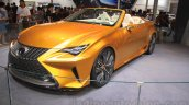 Lexus LF-C2 front three quarter at the 2015 Chengdu Motor Show