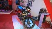 Mahindra Centuro Rockstar front at Nepal Auto Show 2015