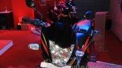 Mahindra Centuro Rockstar front cowl at Nepal Auto Show 2015