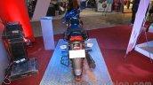 Mahindra Centuro Rockstar rear at Nepal Auto Show 2015