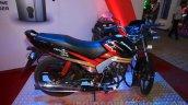 Mahindra Centuro Rockstar side right at Nepal Auto Show 2015