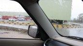Mahindra TUV300 A-pillar first drive review
