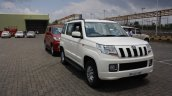 Mahindra TUV300 first drive front quarter review