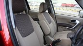 Mahindra TUV300 front seats first drive review