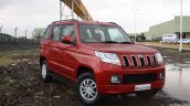 Mahindra TUV300 front three quarter (3) first drive review