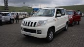 Mahindra TUV300 front three quarter first drive review