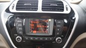 Mahindra TUV300 infotainment display first drive review