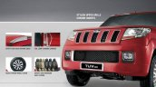 Mahindra TUV300 optional extras