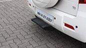 Mahindra TUV300 rear step first drive review