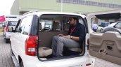 Mahindra TUV300 seating first drive review