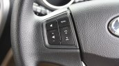 Mahindra TUV300 steering controls first drive review
