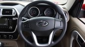 Mahindra TUV300 steering wheel first drive review
