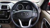 Mahindra TUV300 steering wheel first drive review