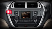 Mahindra TUV300 voice messaging system and audio system website image