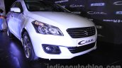 Maruti Ciaz SHVS front three quarter launched in Delhi
