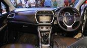 Maruti Suzuki S-Cross dashboard at the 2015 Nepal Auto Show