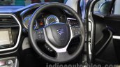 Maruti Suzuki S-Cross steering wheel at the 2015 Nepal Auto Show
