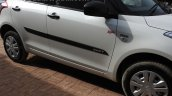 Maruti Swift SP Limited Edition side moulding begins arriving at dealership