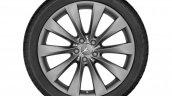 Matt Himalaya grey alloy wheels for the S-Class Cabriolet unveiled at 2015 IAA Frankfurt
