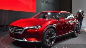 Mazda Koeru Concept front three quarter at IAA 2015