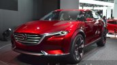 Mazda Koeru Concept front three quarter view at IAA 2015