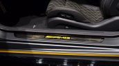 Mercedes AMG C63 Coupe Edition 1 door sill plaque at the IAA 2015