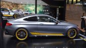 Mercedes AMG C63 Coupe Edition 1 side at the IAA 2015