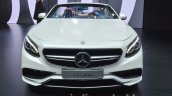 Mercedes AMG S 63 Cabriolet front at the IAA 2015