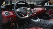 Mercedes AMG S 63 Cabriolet interior at the IAA 2015