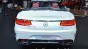 Mercedes AMG S 63 Cabriolet rear at the IAA 2015