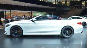 Mercedes AMG S 63 Cabriolet side at the IAA 2015