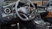 Mercedes C Class Coupe interior at the IAA 2015