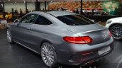 Mercedes C Class Coupe rear three quarter at the IAA 2015