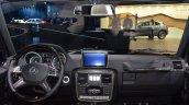 Mercedes G500 V8 dashboard at IAA 2015