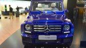 Mercedes G500 V8 front at IAA 2015