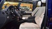 Mercedes G500 V8 front seats at IAA 2015