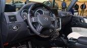 Mercedes G500 V8 steering wheel at IAA 2015
