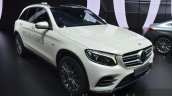 Mercedes GLC 350e 4MATIC front three quarter at IAA 2015