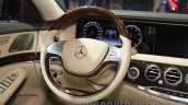 Mercedes Maybach S500 at steering the 2015 Chengdu Motor Show