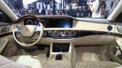 Mercedes Maybach S500 dashboard at the 2015 Chengdu Motor Show
