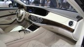 Mercedes Maybach S500 interior at the 2015 Chengdu Motor Show