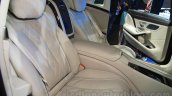 Mercedes Maybach S500 seats at the 2015 Chengdu Motor Show